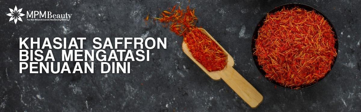 Khasiat Saffron Bisa Mengatasi Penuaan Dini